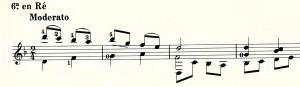 タレガ前奏曲第1番